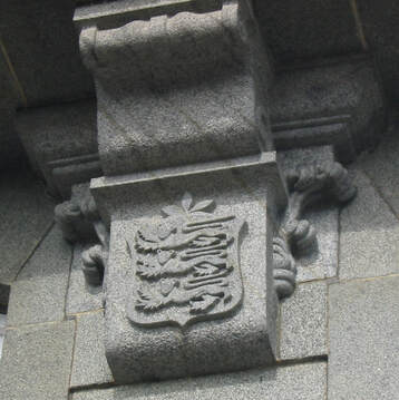 States of Guernsey building (detail)